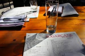 sugarcane December menu