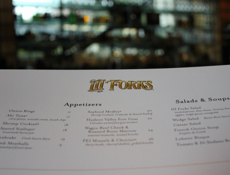 III Forks Prime Steakhouse Gulfstream Park Florida