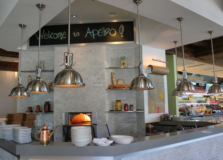 Lunch at Apeiro Kitchen Bar in Delray Beach, Florida