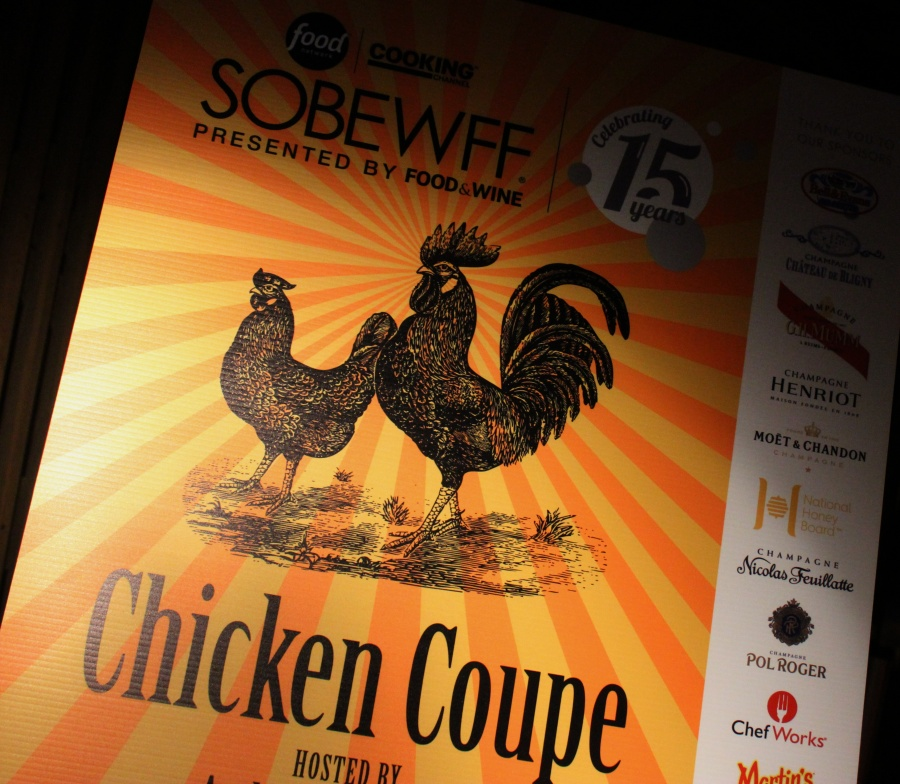Chicken Coupe at the W South Beach SOBEWFF 2016