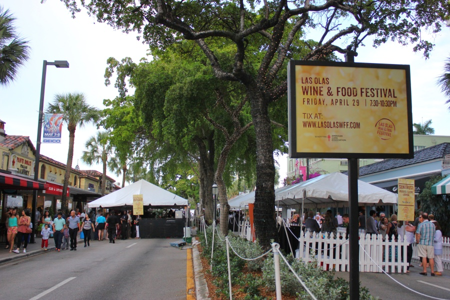 Las Olas Wine and Food Festival 2016