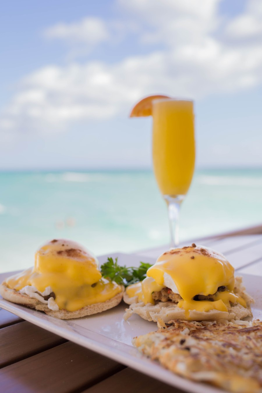 Image result for Mimosas and Eggs Benedict