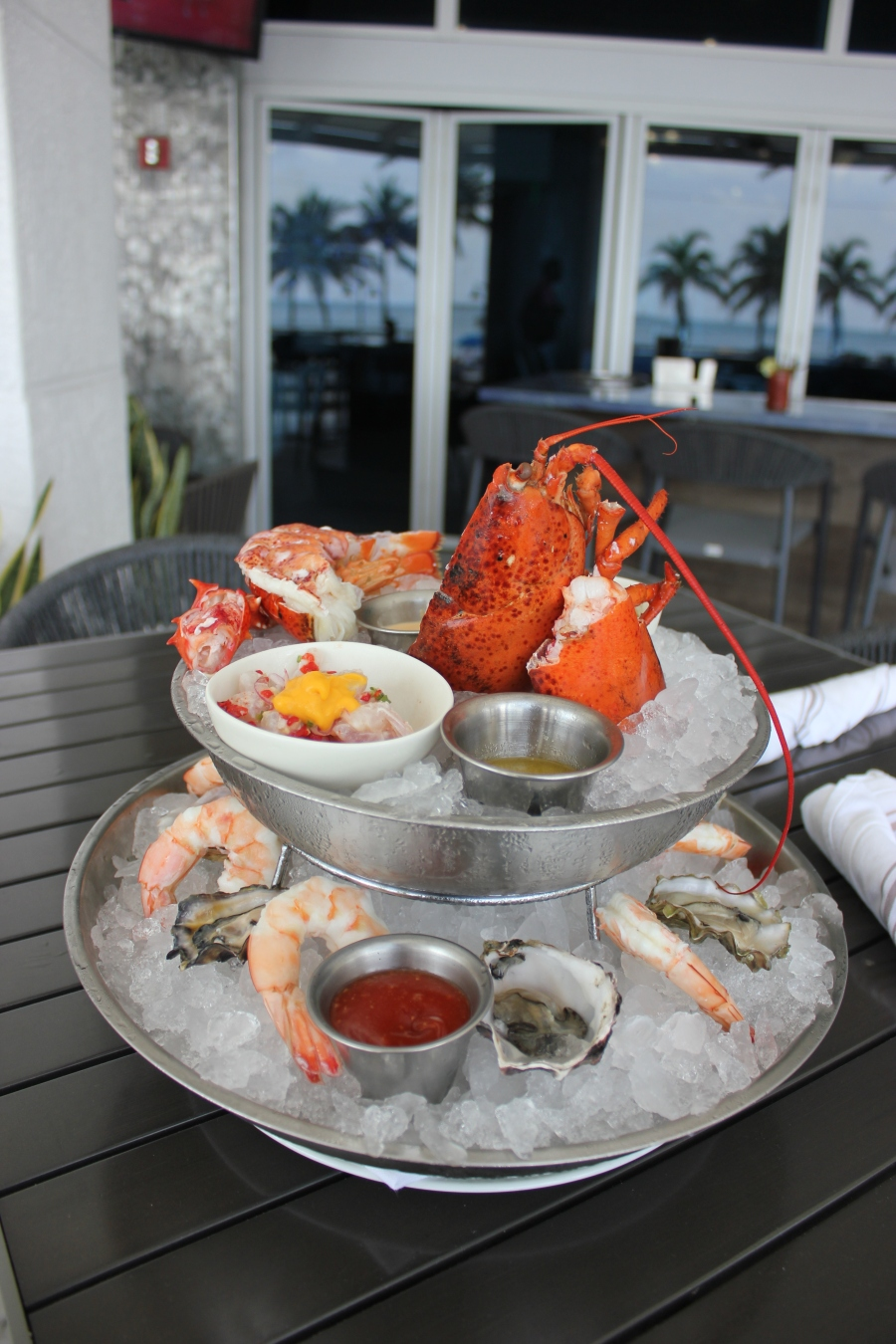 seafood tower ft laudedale beach
